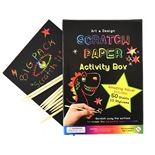 Scratch Paper A5 Aktivitets Box 50 Sidor