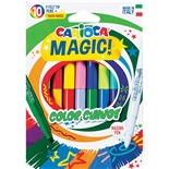 Carioca Color Change Magic Fiberpennor 10-Pack