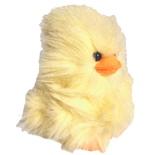 Mjukis Kyckling Fluffig Gul 18 cm
