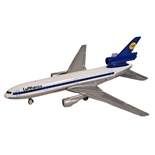 ERTL Jet Tran Flygplan McDonnell Douglas DC-10 Lufthansa