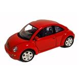 Bburago Volkswagen New Beetle -98 1:18 Röd