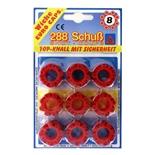 Wicke Knallpulver Röda 8-Skottsringar 36-Pack