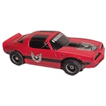 Tyco Pontiac Firebird Röd Bilbanebil