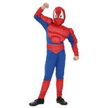 Spiderman Muskeldräkt Small