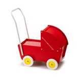 Micki Sufflettvagn Röd Classic