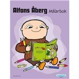 Kärnan Målarbok Måla Alfons
