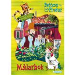 Kärnan Målarbok Pettson & Findus