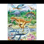Larsen Pussel 35 Bitar Dinosaurier