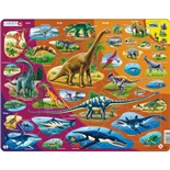 Larsen Pussel 85 Bitar Dinosaurier