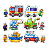 Orchard Toys Pussel 2 och 3 Bitar Rescue Squad