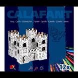 Calafant Bygg i papp Dragon Rock Castle