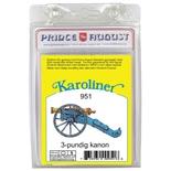Prince August Karoliner Kanon 3-Punds