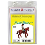 Prince August Karoliner Artillerihäst med Kusk