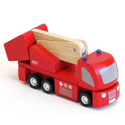 PlanToys Fire Engine 11,5 cm, 6234