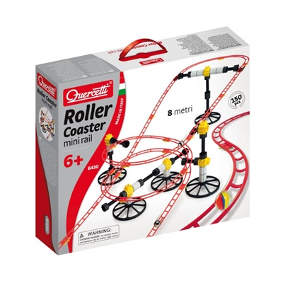 Quercetti Roller Coaster Mini Rail, 6430