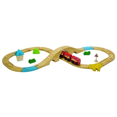 PlanToys Figure Eight Railway, 6605
