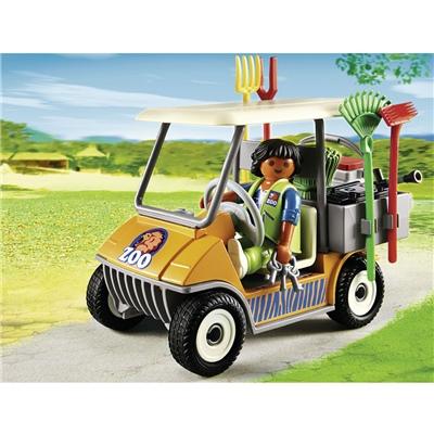 Playmobil Djurskötare med Bil, 6636P