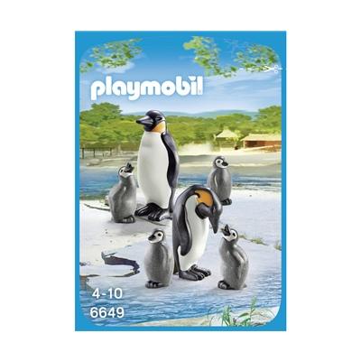 Playmobil Pingvinfamilj med Ungar, 6649