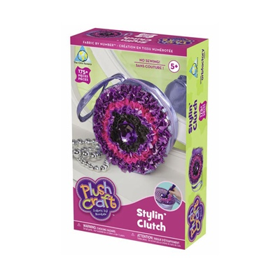 The Orb Factory Plush Craft Stylin´ Clutch, 66789