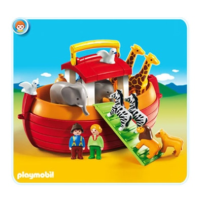 Playmobil 1-2-3 Take Along Noaks Ark, 6765