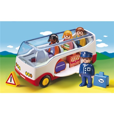 Playmobil 1-2-3 Buss, 6773
