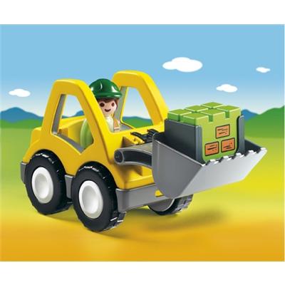 Playmobil 1-2-3 Hjullastare, 6775