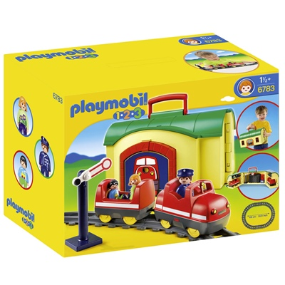 Playmobil 1-2-3 Take Along Tågset, 6783