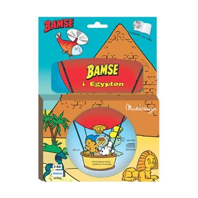 Kärnan Sago-CD och Bok Bamse i Egypten, 69010001