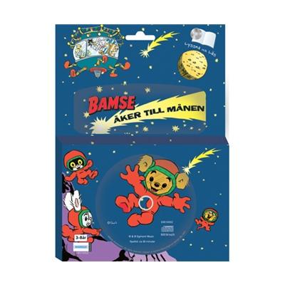 Kärnan Sago-CD och Bok Bamse åker till Månen, 69010002