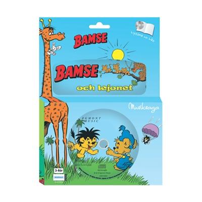 Kärnan Sago-CD och Bok Bamse och Lejonet, 69010005