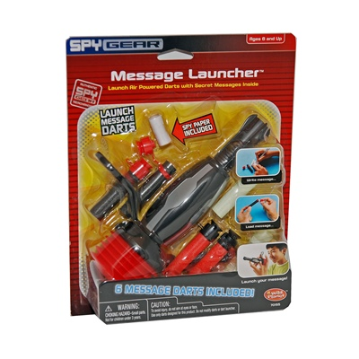 Spy Gear Message Launcher, 70155