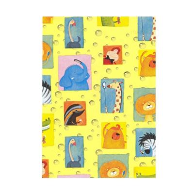 Presentpapper Zoo Gul  0,57 x 5m, 7350025786360