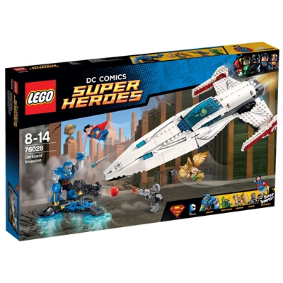 LEGO DC Comics Super Heroes Darkseids Invasion, 76028