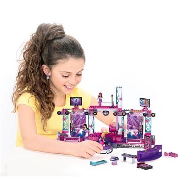 Mega Bloks Barbie Build´n Style Super Star Stage, 80247