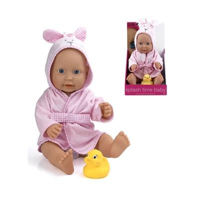 Dolls World Docka Splash Time Baby Flicka 41 cm, 8552