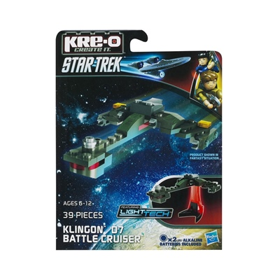 KRE-O Star Trek Micro Klingon D7 Battle Cruiser, A3369