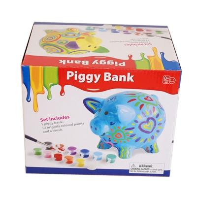 Måla Själv Piggy Bank Spargris, DIY-25MSB