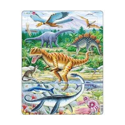 Larsen Pussel 35 Bitar Dinosaurier, FH16