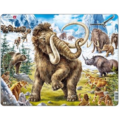 Larsen Pussel 64 Bitar Mammut, FH27