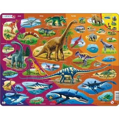 Larsen Pussel 85 Bitar Dinosaurier, HL1