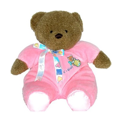 K´s Kids Mjukisnalle 33 cm Rosa, KP11152