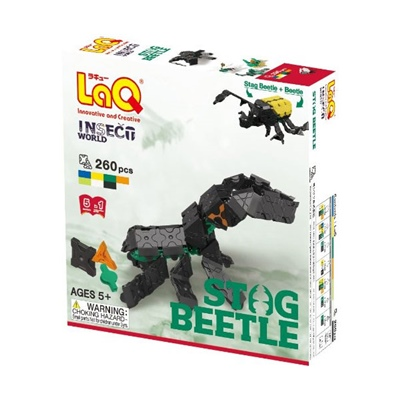LaQ Insect World Stag Beetle, LQ7001313