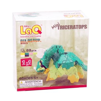 LaQ Dinosaur World Mini Triceratops, LQ7001788