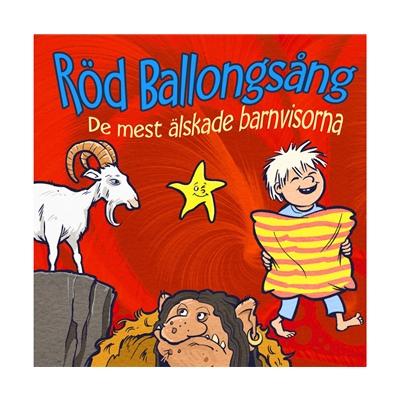 Musik CD Röd Ballongsång De mest älskade barnvisorna, MRCD111