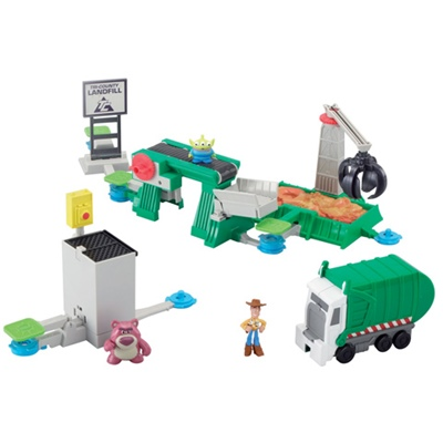 Toy Story 3 Action Links Stunt Set, R2387