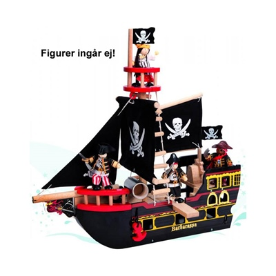 perfekt svart leksaks show