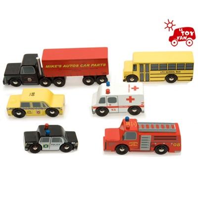 Le Toy Van Bilar i Trä New York, TV268
