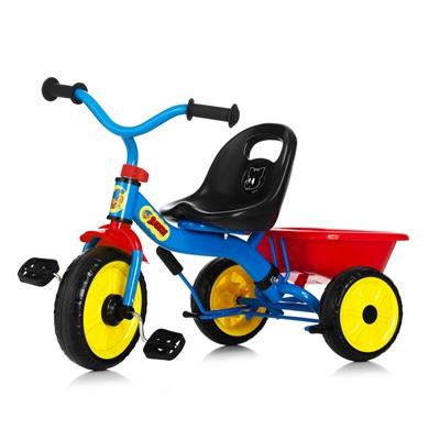 Nordic Hoj Bamse Trehjuling Blå, 72-007