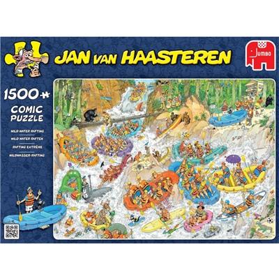 Jan van Haasteren Pussel 1500 Bitar Wild Water Rafting, 19015