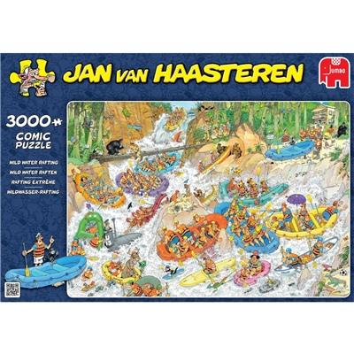Jan van Haasteren Pussel 3000 Bitar Wild Water Rafting, 19017